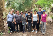 2018 Beach Clean Up and Trail Building