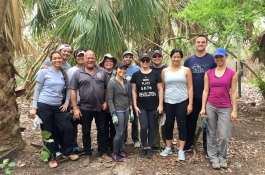 2018 Beach Clean Up and Trail Building (4)