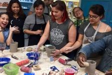 2018 Pottery Class