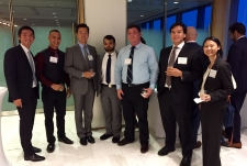 2015 Law Student Mentoring Kickoff at Greenberg Traurig with the Honorable Nushin Sayfie and Florida Bar President Ray Abadin